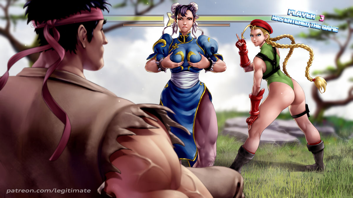 porn street cammy fighter gif Gamergirl and hipster girl