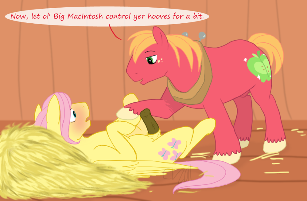 fluttershy big mac mlp and Trials in tainted space atha