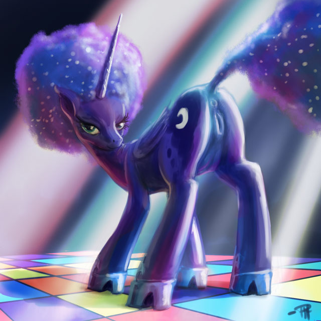 my from luna pictures little pony of Monster girl encyclopedia mucus toad