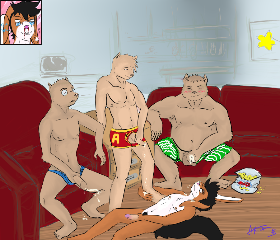 hentai the chipmunks and alvin Mr peabody and sherman nude