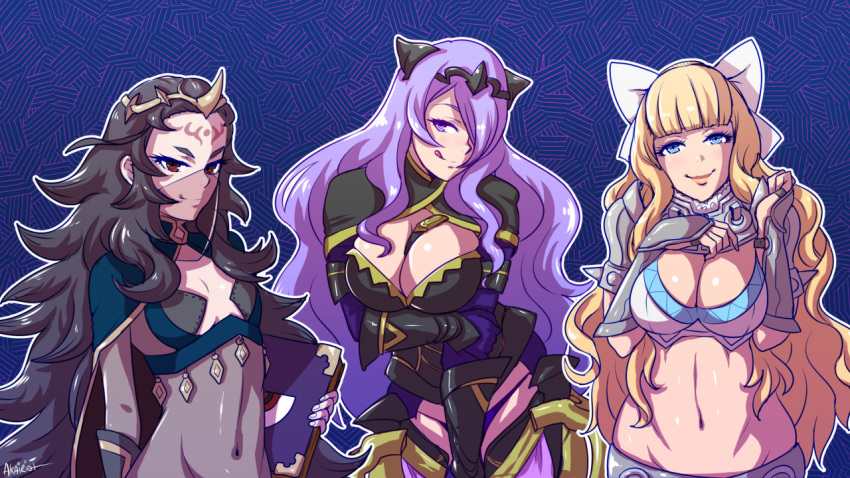emblem naked camilla fire fates Raiders of the broken planet alicia