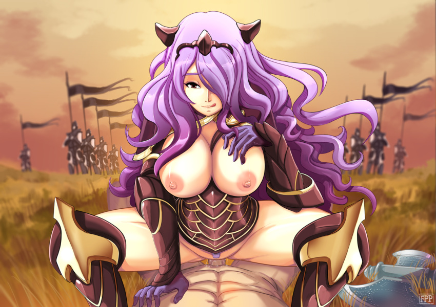 fire emblem camilla fates from Bloodstained ritual of the night bloodless