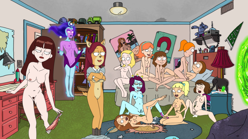 and rick nude summer morty smith Tokimeki memorial: only love