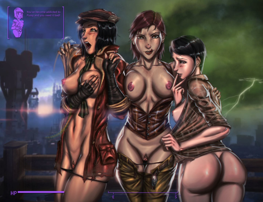 naked 4 fallout from piper Ladies vs. butlers!