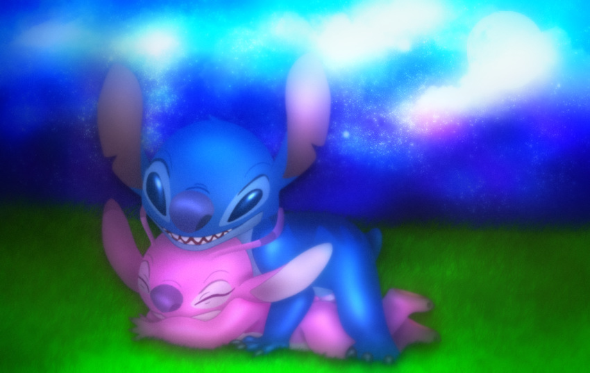 stitch lilo alien and yellow How to do synergy attacks mua 3