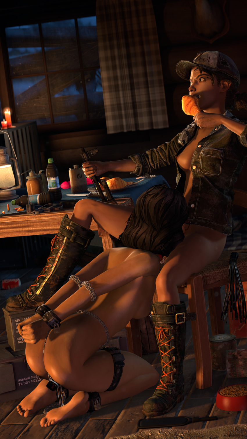 walking dead nude game the Wreck it ralph vanellope nude