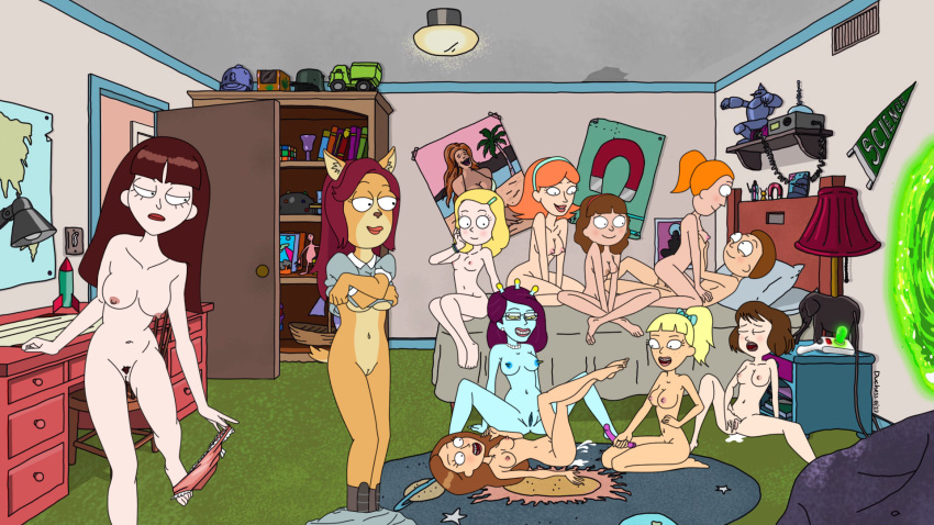 naked jessica morty and rick Ducktales 2017 magica de spell